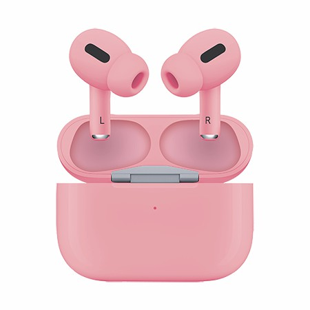 Picture of True Wireless Pro Ear Buds with Charging Dock, Pink