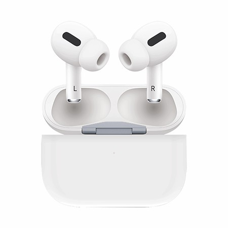 Picture of True Wireless Pro Ear Buds with Charging Dock, White