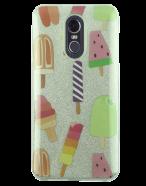 Picture of AMPD Sticker Glitter Design Series for LG Stylo 4, Ice Cream Cones