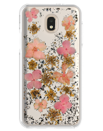 Picture of Botanic Series Case for Samsung Galaxy J7 Refine, Pink