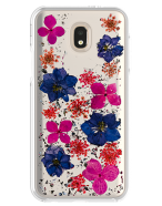 Picture of Botanic Series Case for Samsung Galaxy J7 Refine, Purple