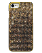 Picture of Apple iPhone 7 & 8 Brilliant Series Case, Gold Rhinestones