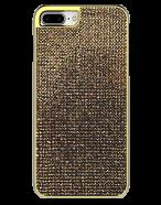 Picture of Apple iPhone 7 Plus & 8 Plus Brilliant Series Case, Gold Rhinestones