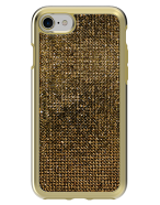 Picture of Apple iPhone 7 & 8 Brilliant Plus Series Case, Gold Rhinestones
