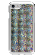 Picture of Apple iPhone 7 & 8 Brilliant Plus Series Case, White Rhinestones