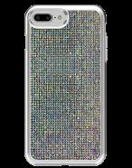 Picture of Apple iPhone 7 Plus & 8 Plus Brilliant Plus Series Case, White Rhinestones