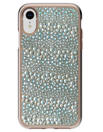 Picture of Apple iPhone XR Krystal Series Limited Edition Case, Rose Gold Krystals & Pearls