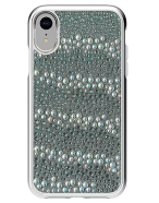 Picture of Apple iPhone XR Krystal Series Limited Edition Case, White Krystals & Pearls