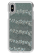 Picture of Apple iPhone Xs Max Krystal Series Limited Edition Case, White Krystals & Pearls