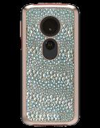 Picture of Motorola Moto G6 Play Krystal Series Limited Edition Case, Rose Gold Krystals & Pearls