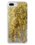 Picture of Apple iPhone 7 Plus & 8 Plus Motion Series Case, Golden Dollar Sign