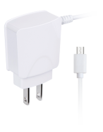 Picture of 2.1A Micro USB corded Wall Charger, White