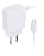 Picture of 2.1A USB Type C corded Wall Charger, White