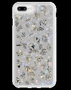Picture of Apple iPhone 7 Plus & 8 Plus Sparkle Series Case, Zebra Pearl