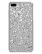 Picture of Apple iPhone 7 & 8 Style Series Case, Silver Flakes